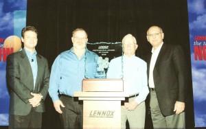 Lennox Presidential Award