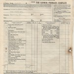 1953 Bill of Lading