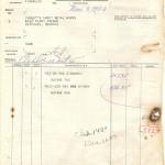 1953 Invoice