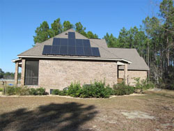 Solar Powered Home Installation